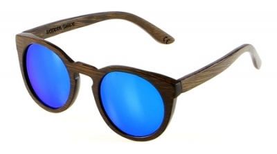 "DARK LANEA (Bamboo Sunglasses) ""Blue"""