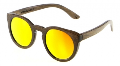"DARK LANEA (Bambus Sonnenbrille) ""Orange"""