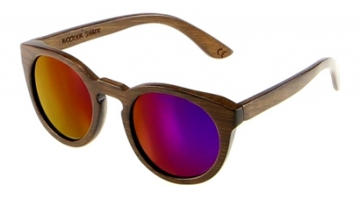 "DARK LANEA (Bamboo Sunglasses) ""Purple"""