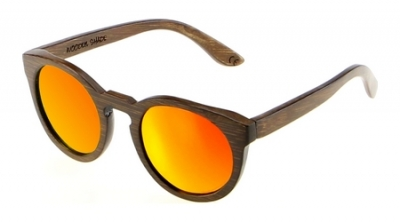 "DARK LANEA (Bamboo Sunglasses) ""Red"""