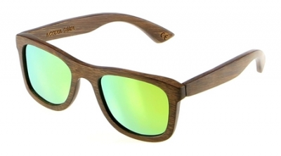 "KALEA ""Gold"" - Bamboo Sunglasses"