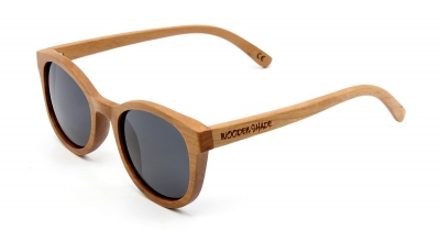 "KEOLA (Cherry Wood) Sunglasses ""Black"""