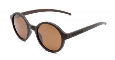 """SARITA Wood Sunglasses """"Brown"""""""