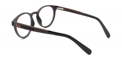 "MAYA ""Optical"" - Ebony Wood Glasses"