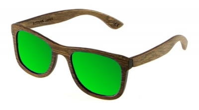 "KALEA ""Green"" - Bamboo Sunglasses"