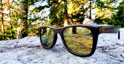 "KALEA ""Gold"" - Bambus Sonnenbrille"