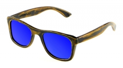 "KALEA (Vintage Edition) ""Blue"" - Bamboo Sunglasses"