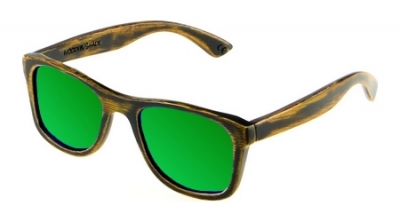 "KALEA (Vintage Edition) ""Green"" - Bamboo Sunglasses"