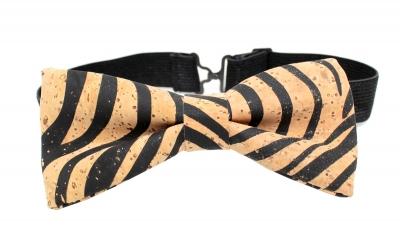 Cork Bow Tie (#3 Zebra Style)