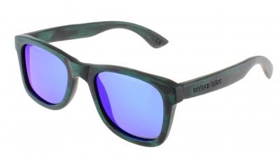 """LIKO Vintage EVO """"Blue"""" - Bambus Sonnenbrille"""