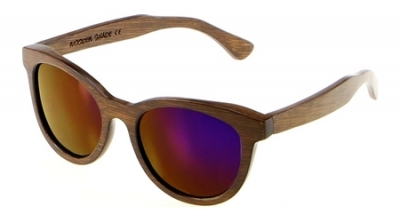 "SIVA Bamboo Sunglasses ""Purple"""