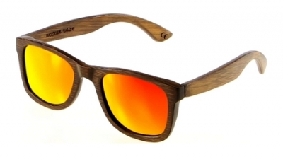 "LIKO ""Red"" - Bamboo Sunglasses"