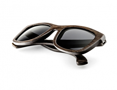 "KALEA ""Black"" - Bamboo Sunglasses"
