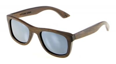 """KALEA """"Silber"""" - Bambus Sonnenbrille"""