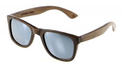 "LIKO ""Silver"" - Bamboo Sunglasses"