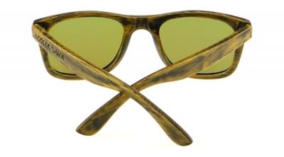 """LIKO Vintage """"Green"""" - Bambus Sonnenbrille"""