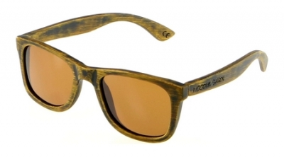 "LIKO Vintage ""Brown"" - Bamboo Sunglasses"