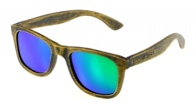 "LIKO Vintage ""Green"" - Bamboo Sunglasses"