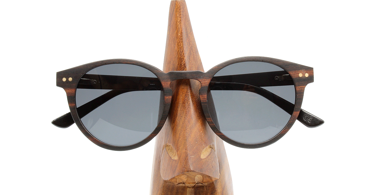 MAYA Damen Holz Sonnenbrille Women Wood Sunglasses WOODEN SHADE