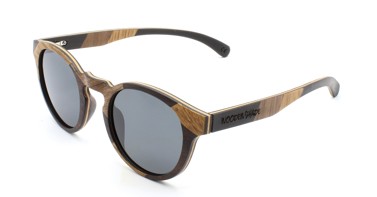 MAYA Special Edition Damen Holz Sonnenbrille Women Wood Sunglasses WOODEN SHADE