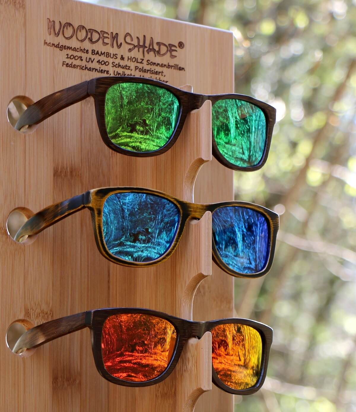 WOODEN SHADE SUNGLASSES