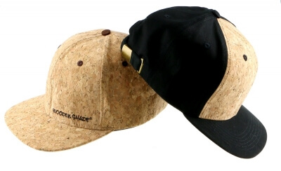 Kork Baseball Caps Kork Hut Cork Cap Flexfit Snapback Wooden Shade
