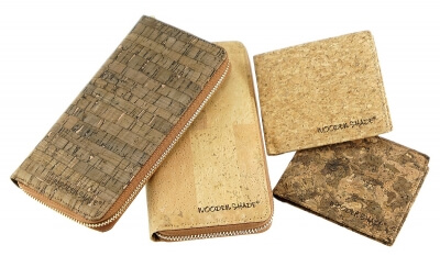 cork wallets purses
