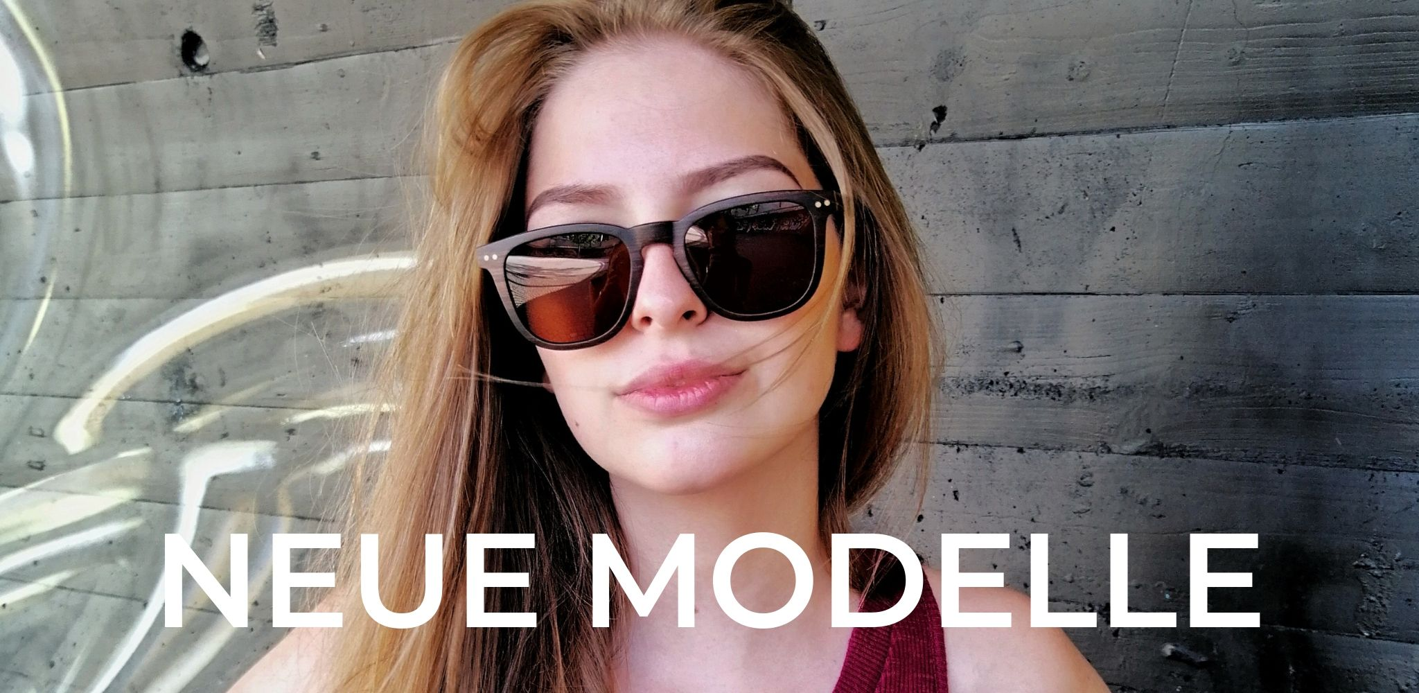 WOODEN SHADE Neue Holz Sonnenbrillen Modelle Damen Herren Wood Sunglasses Men Women 1