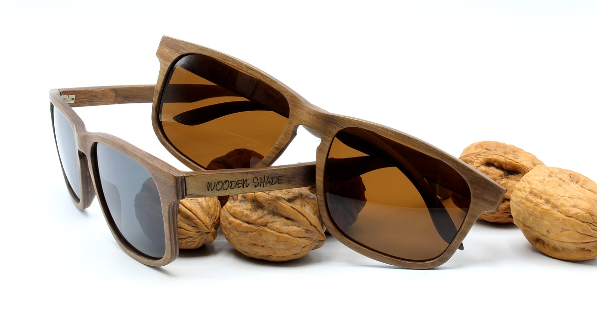 Walnuss Holz Sonnenbrille WOODBROOK Damen Herren Wooden Shade Sunglasses1