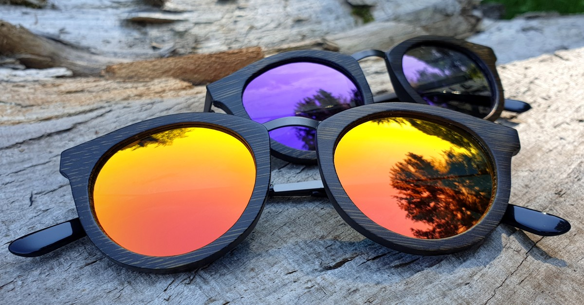 Bamboo Sunglasses | Red - Purple | Women | Metalbridge | WOODEN SHADE®