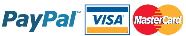 payments visa mastercard paypal bank transfer new