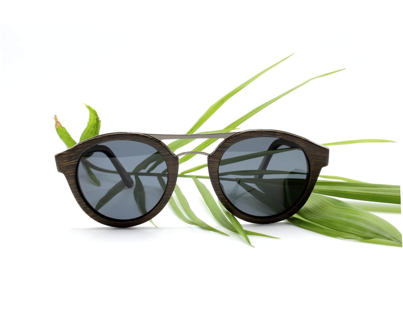 Hand Made Wood Wooden Glasses Mens Womens Bamboo Sunglasses Stylish with UV400